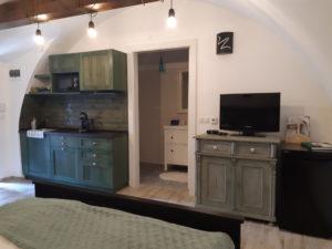 Szamárhát apartman konyhája
