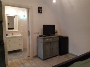 Szamárhát apartman fürdő
