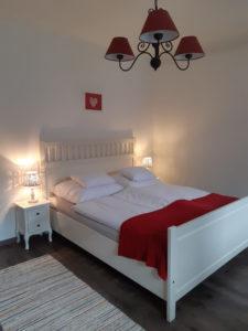 DorkaBorka apartman hálószoba